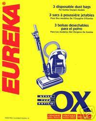 Eureka vacuum bags Type BB OX 61230A