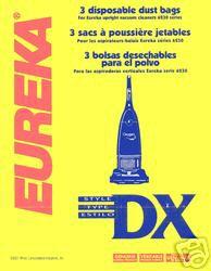 Eureka vacuum bags Type DX 61525