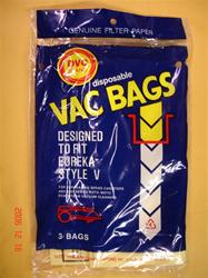Eureka vacuum bags Type V 52358