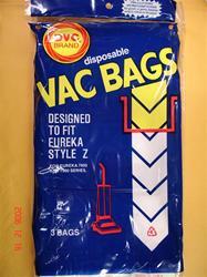 Eureka vacuum bags Type Z 52339B-6