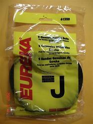 Eureka vacuum belt #61520 Style J (2 Pack)