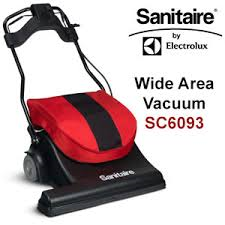 Sanitaire SC6093 Wide Area Motorized Sweeper