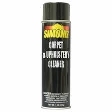 Simoniz Aerosol Carpet & Upholstery Cleaner S3363012