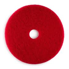 Bissell 15inch Red Buff Pad